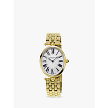 Buy Frédérique Constant FC-200MPW2V5B Women's Classics Art Deco Bracelet Strap Watch, Gold/White Online at johnlewis.com