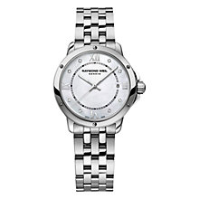 Buy Raymond Weil 5391-ST-00995 Women's Tango Mother of Pearl Stainless Steel Bracelet Strap Watch, Silver Online at johnlewis.com