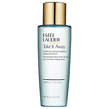 Buy Estée Lauder Take It Away Gentle Eye and Lip Longwear Makeup Remover, 100ml Online at johnlewis.com