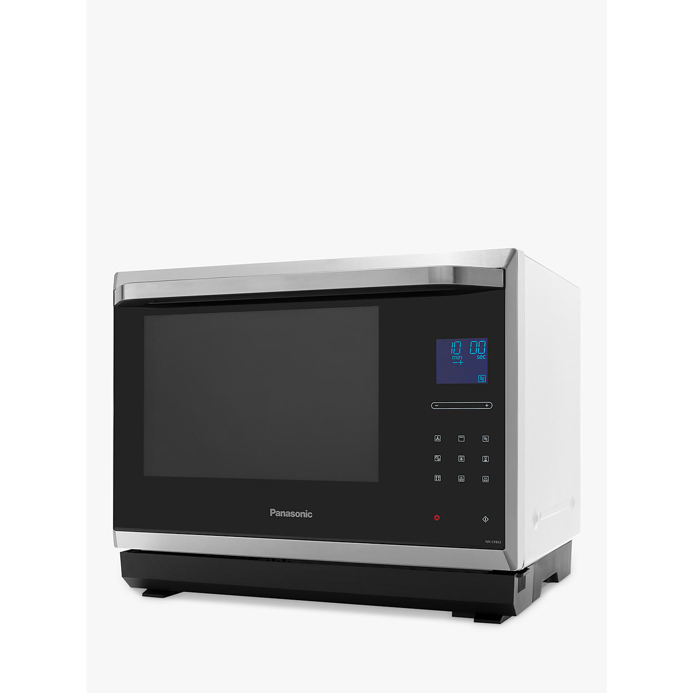 Panasonic Nn Cf853w Combination Microwave Black White Online At Johnlewis