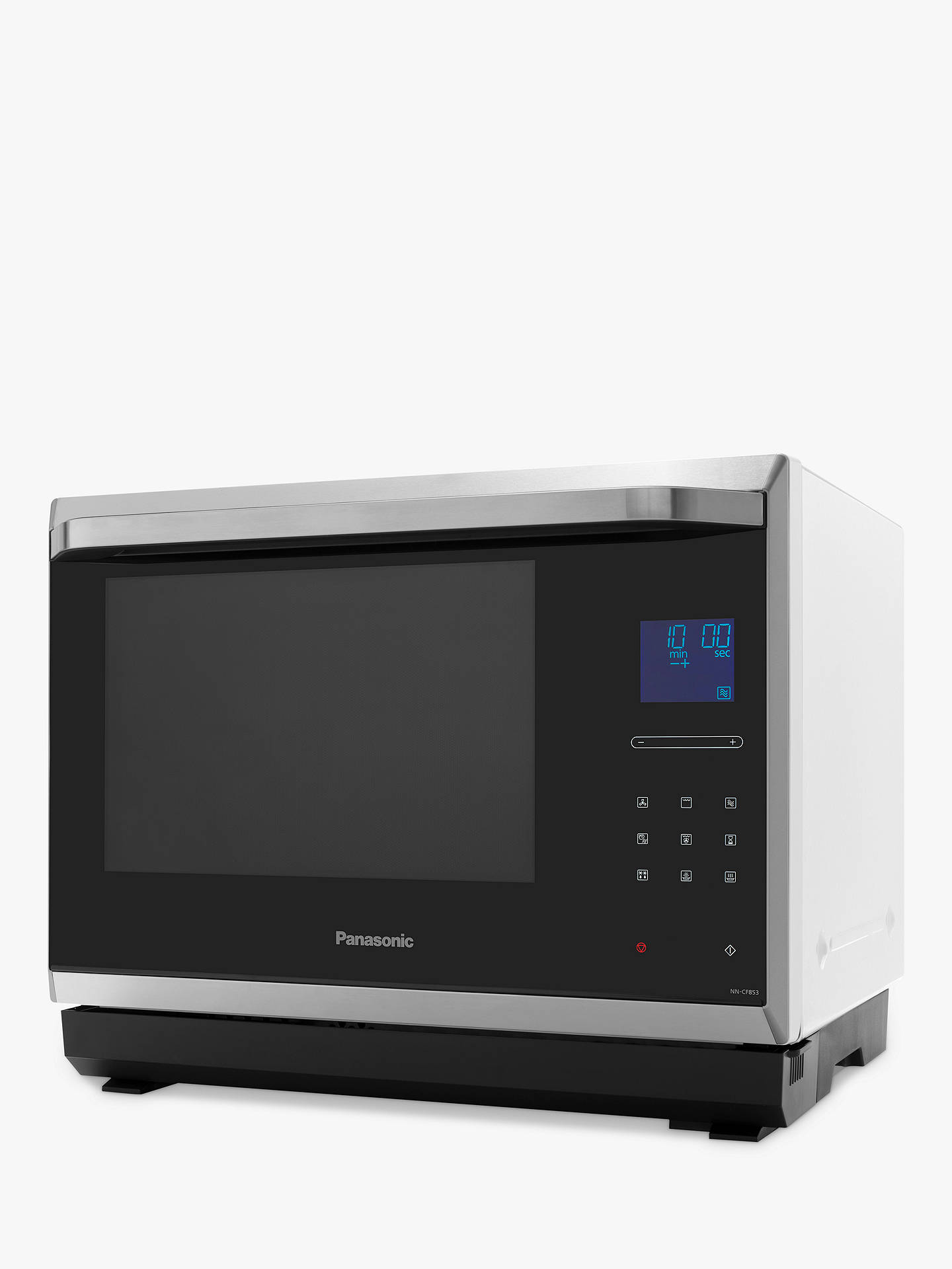 Buy Panasonic NN-CF853WBPQ Combination Microwave Oven, Black/White Online at johnlewis.com