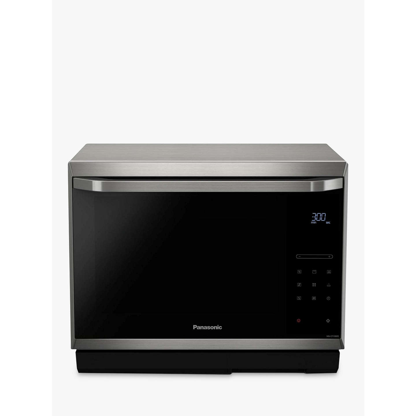 panasonic nn cf873sbpq combination microwave oven stainless steel at john lewis. Black Bedroom Furniture Sets. Home Design Ideas
