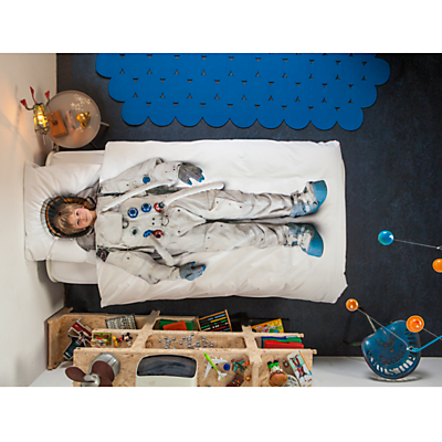 Snurk Astronaut Single Duvet Cover and Pillowcase Set