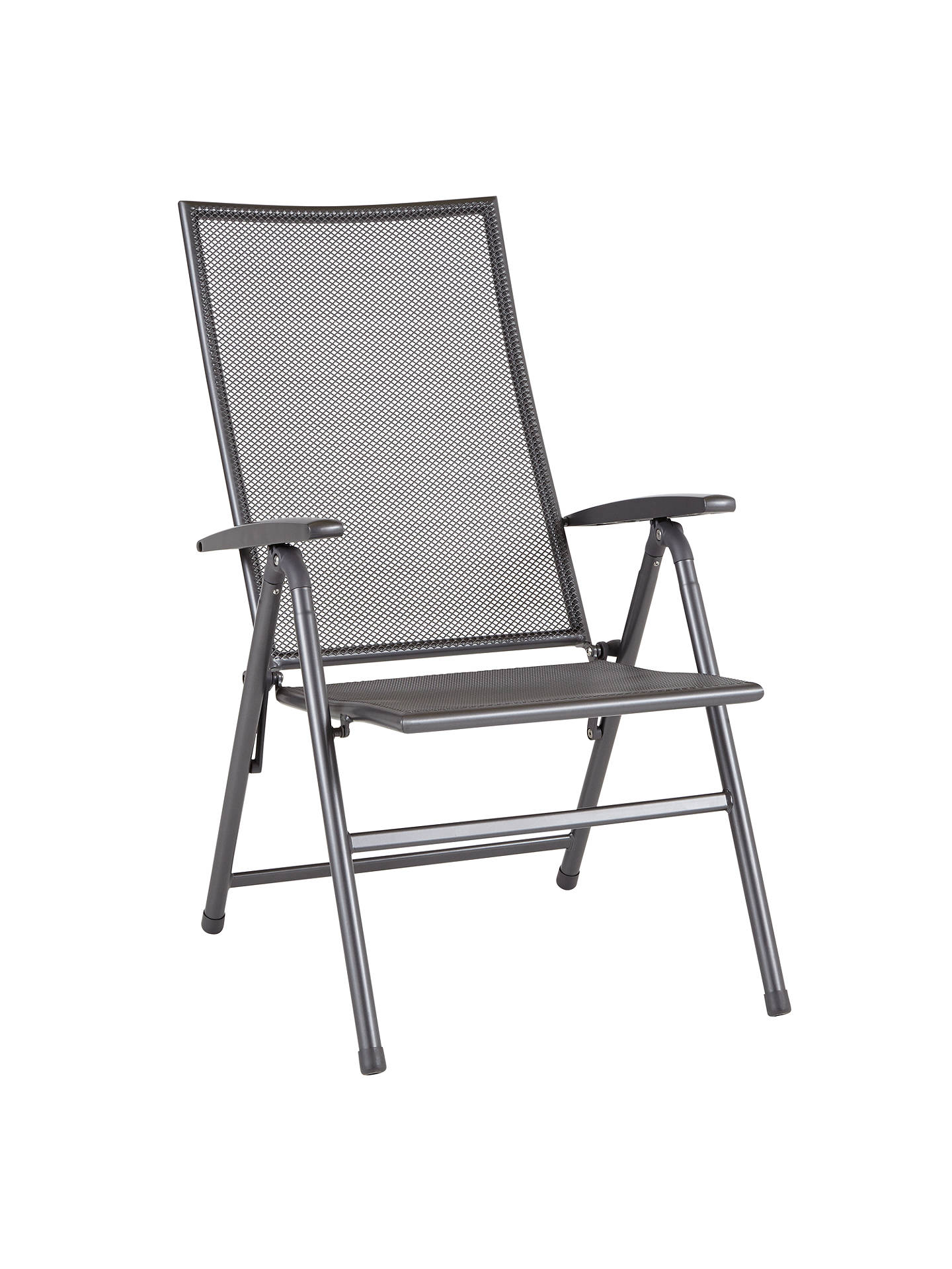 BuyJohn Lewis Henley by KETTLER Outdoor Recliner Chair, Grey Online at johnlewis.com