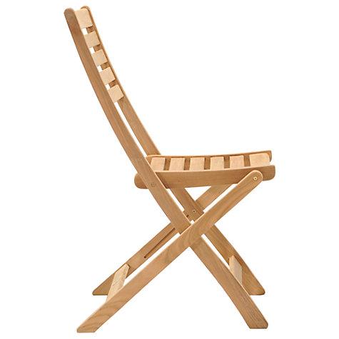 Buy John Lewis Longstock Folding Garden Chair  FSC Certified  Teak    Natural. Buy John Lewis Longstock Folding Garden Chair  FSC Certified  Teak