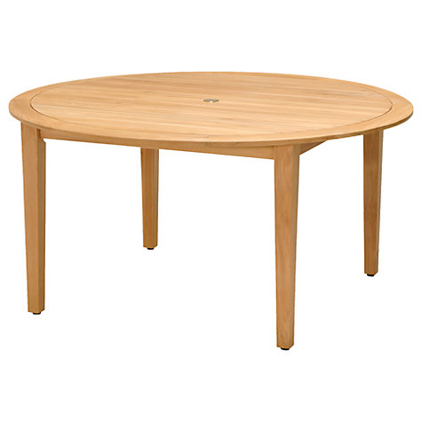 buy john lewis longstock 6 seater round garden dining table fsc certified