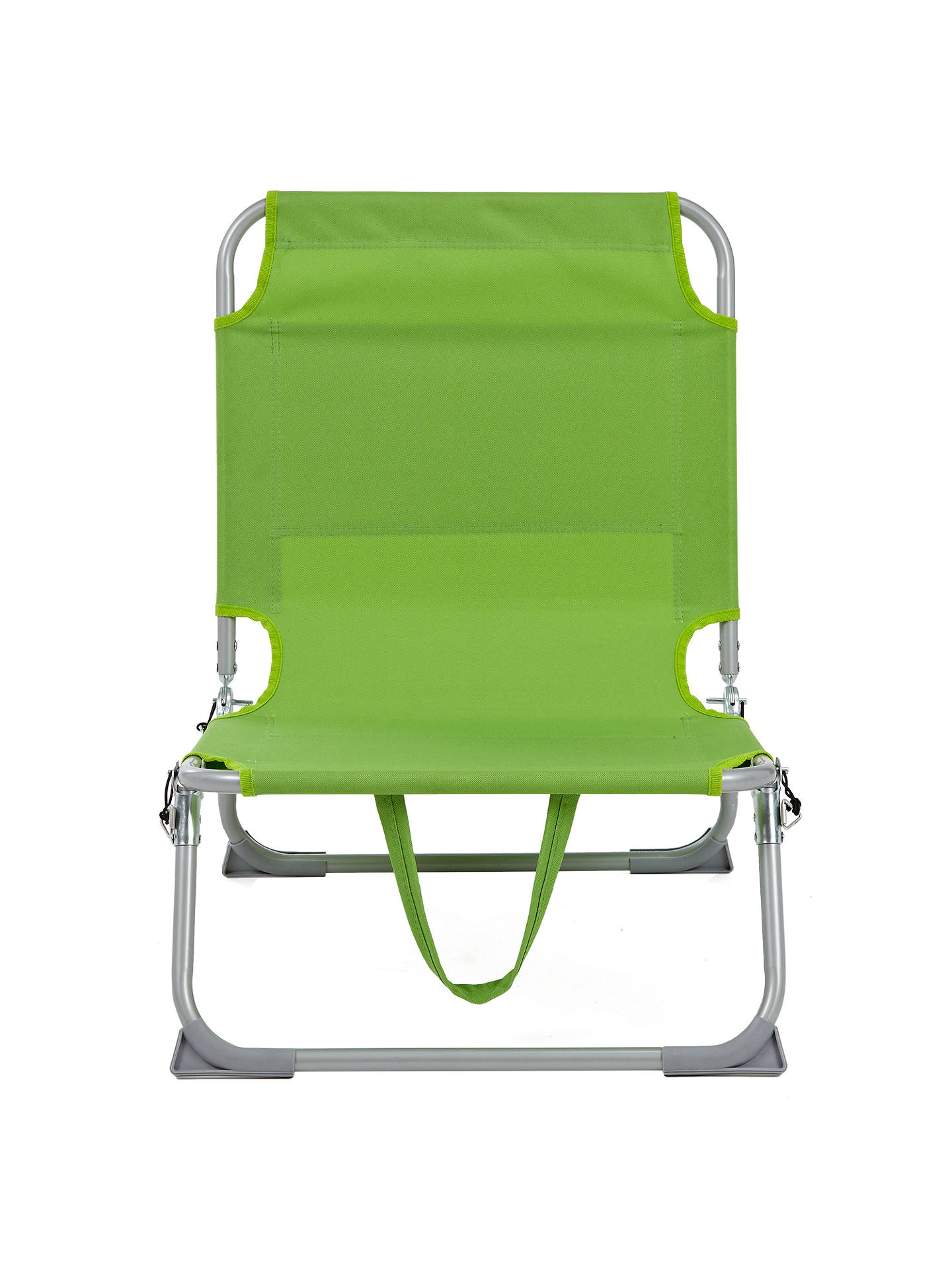 Hello Journey Low Sling Beach Chair Folding Campfire Camping Sand Chair