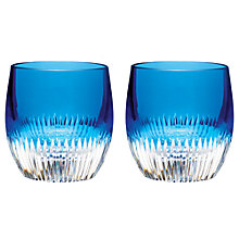 Buy Waterford Mixology Cut Lead Crystal Tumblers, Set of 2 Online at johnlewis.com