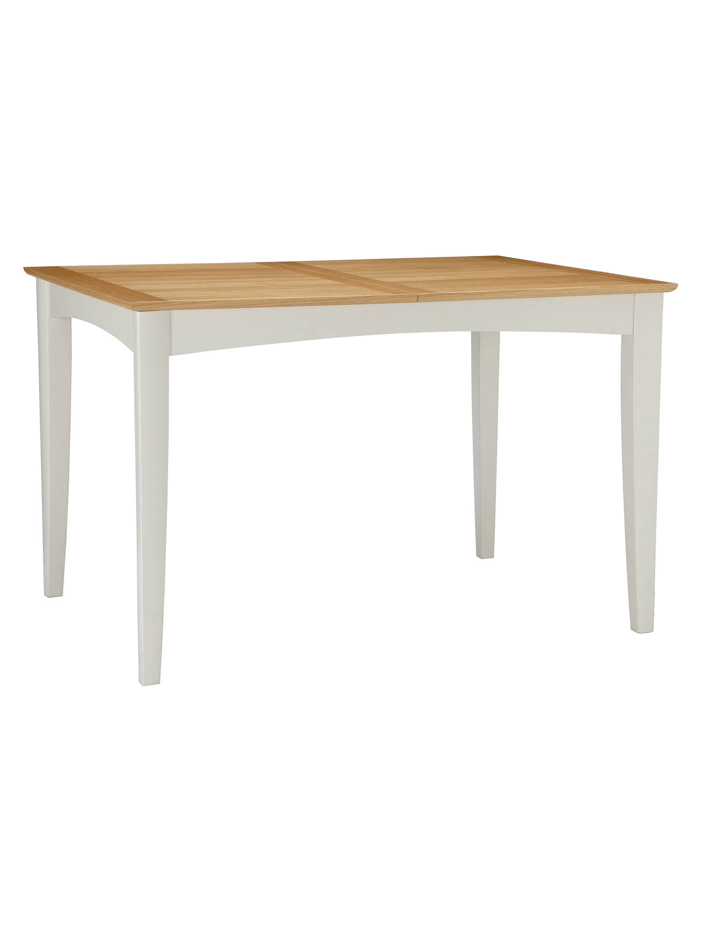 Buyjohn lewis partners alba 4 6 seater extending dining table soft grey online
