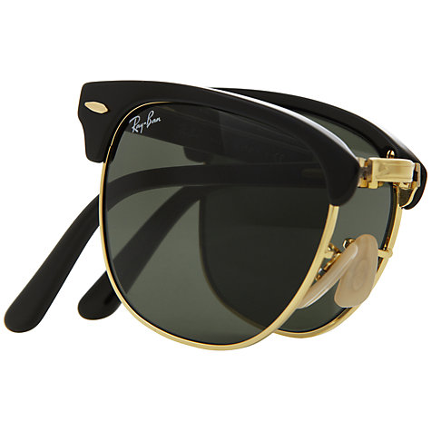 Buy Ray-Ban RB2176 Folding Clubmaster Sunglasses Online at johnlewis.com