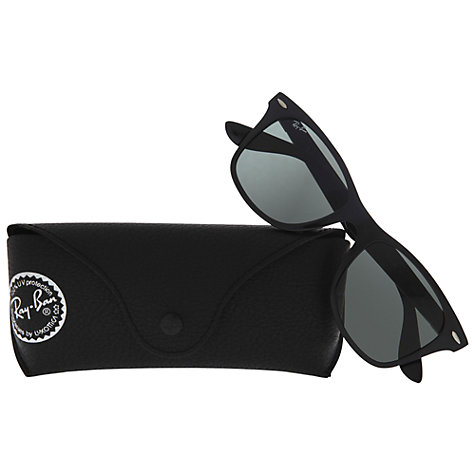 Buy Ray-Ban RB4195 Lite Force Square Framed Wayfarer Sunglasses Online at johnlewis.com