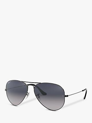 Ray-Ban RB3025 004/78 Aviator Sunglasses, Gunmetal