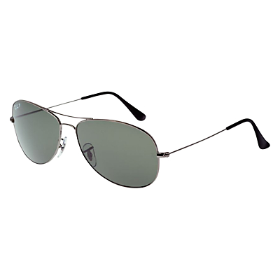 Product photo of Rayban rb3362 aviator sunglasses gunmetal grey