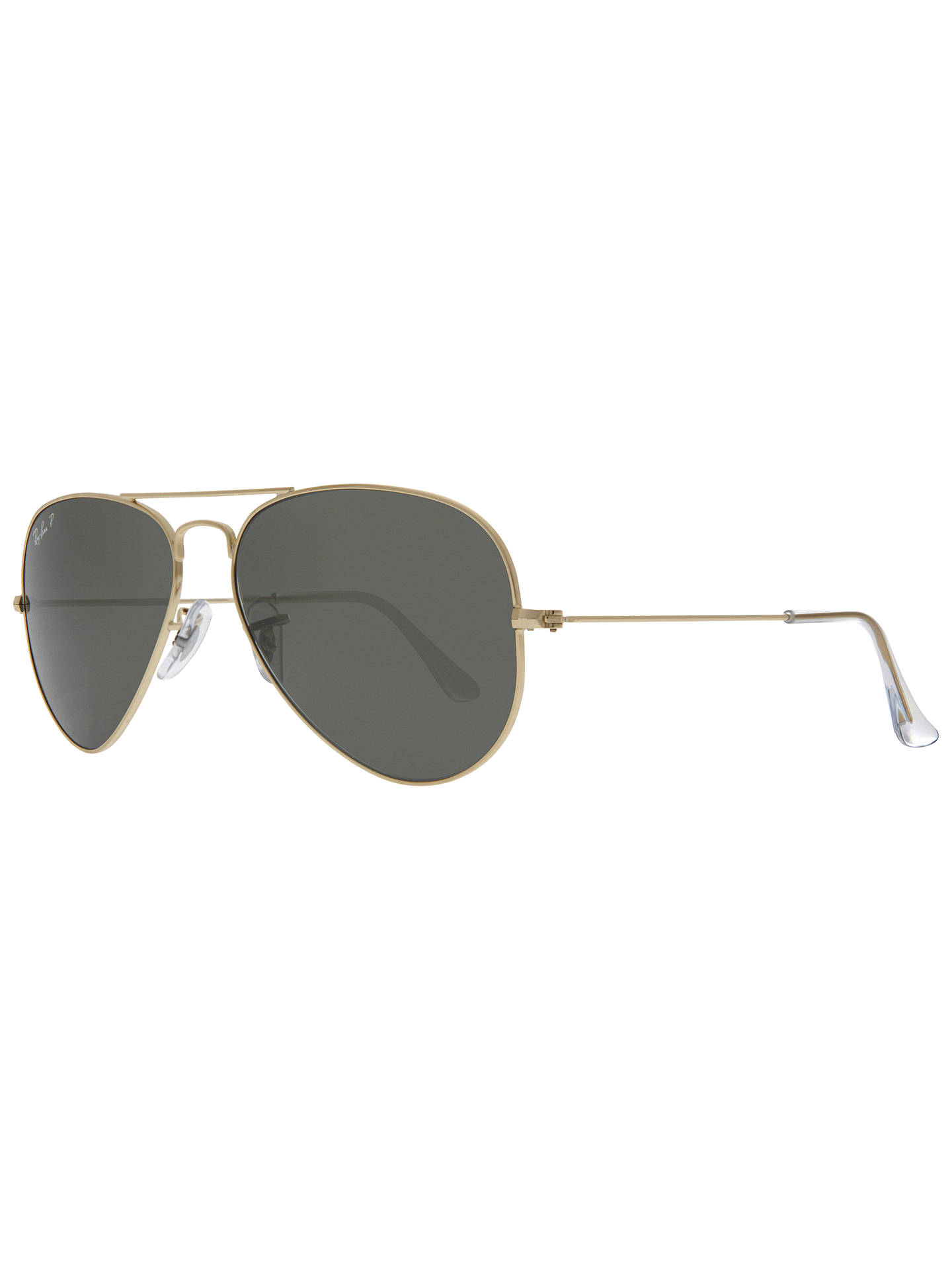 3ce454e71567 Ray-Ban RB3025 Polarised Aviator Sunglasses at John Lewis   Partners