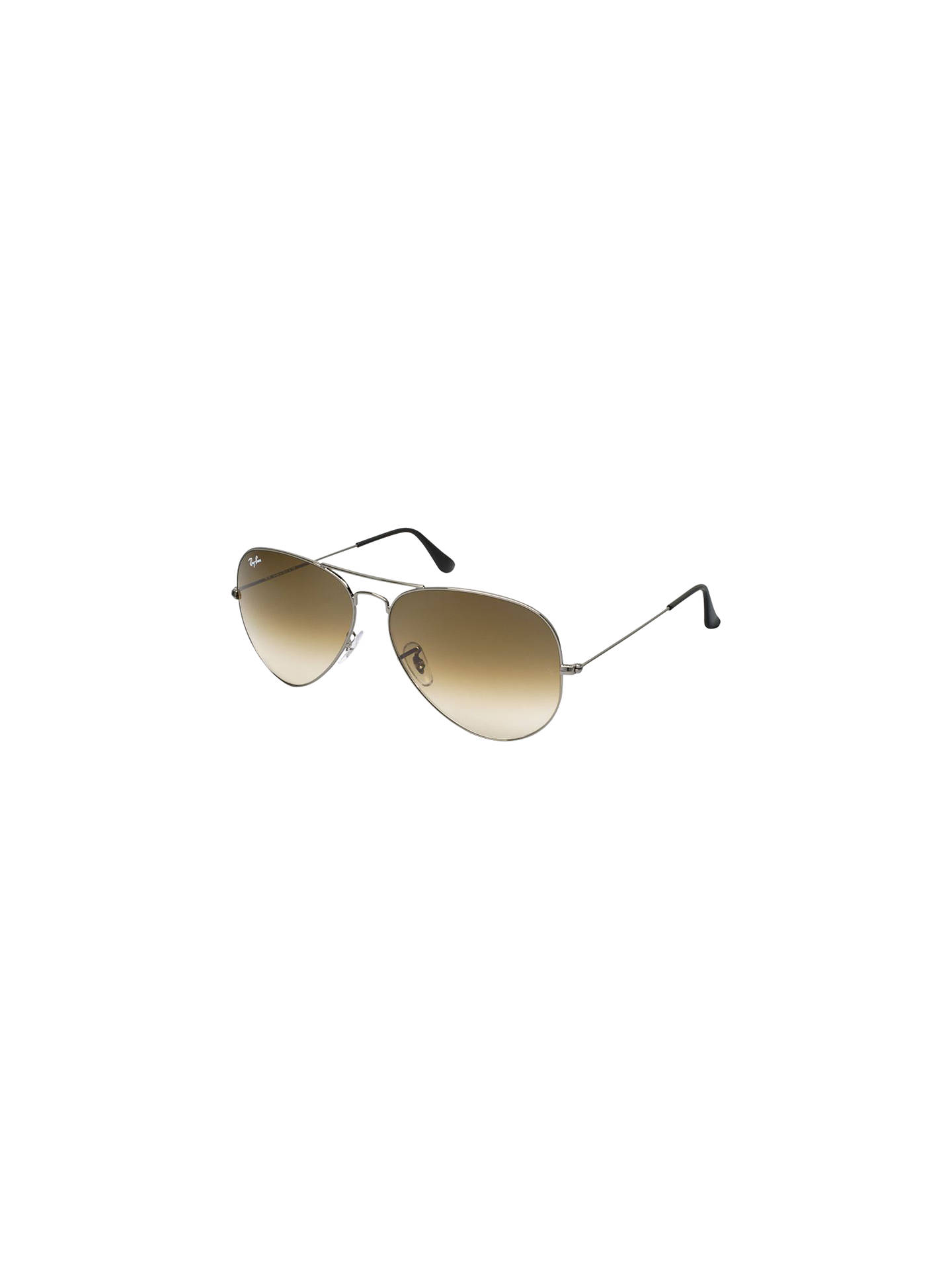 BuyRay-Ban RB3025 Large Metal Aviator Sunglasses, Gunmetal Online at  johnlewis.com ... 329f910b16
