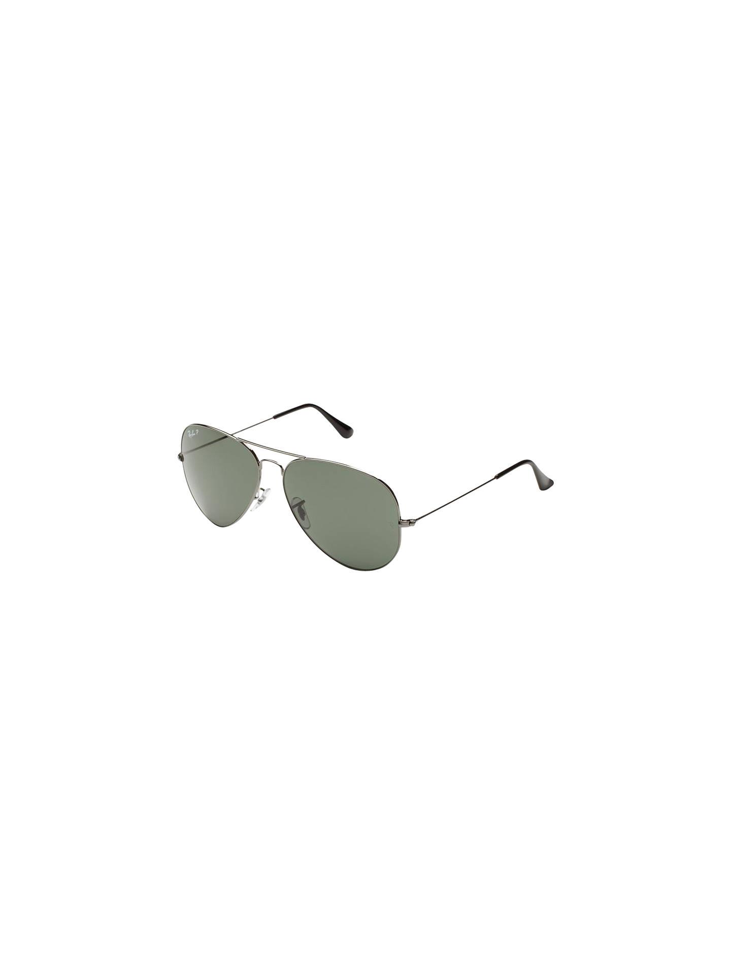 66948951d0f79 Ray-Ban RB3025 Polarised Aviator Sunglasses at John Lewis   Partners