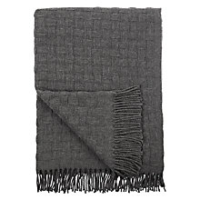 Buy John Lewis Croft Collection Basket Weave Wool Blend Throw Online at johnlewis.com