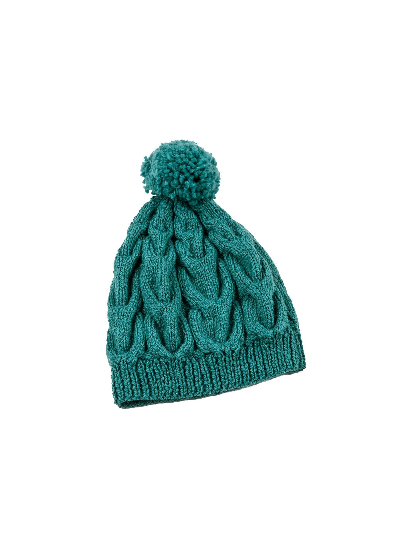 Erika Knight Cable Hat Knitting Pattern at John Lewis ...