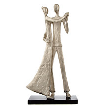 Buy John Lewis Couple Dancing Sculpture Online at johnlewis.com