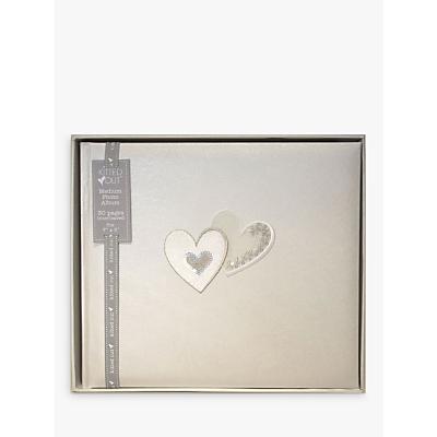 Hearts Traditional Photo Album, Medium