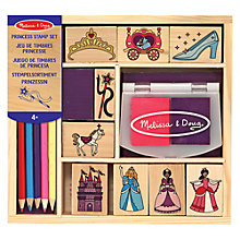 Buy Melissa & Doug Princess Stamp Set Online at johnlewis.com