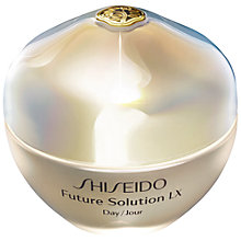 Buy Shiseido Future Solution Lx Day Cream, 50ml Online at johnlewis.com