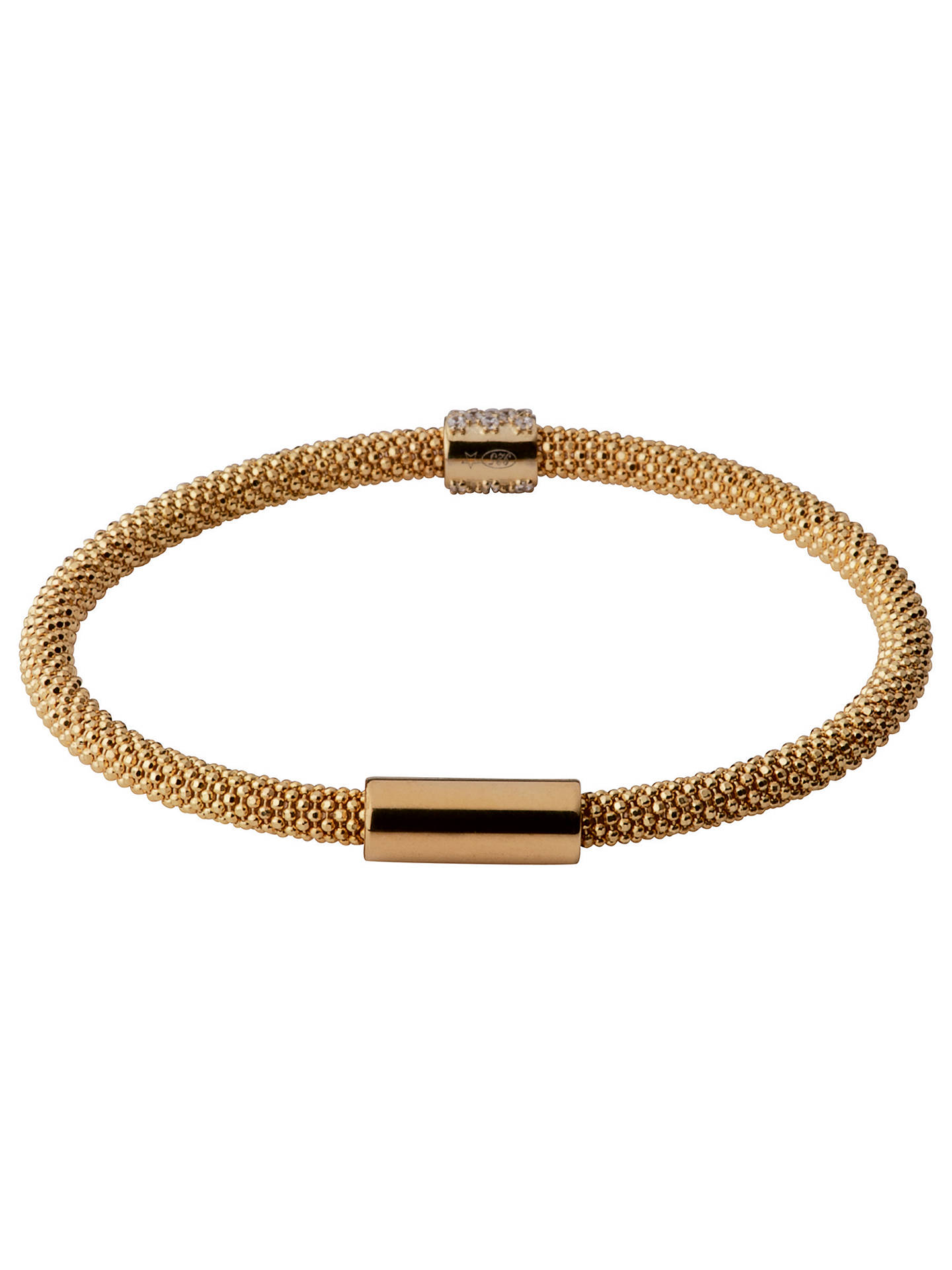 Buy Links of London Stardust Bead Bracelet, Gold Online at johnlewis.com