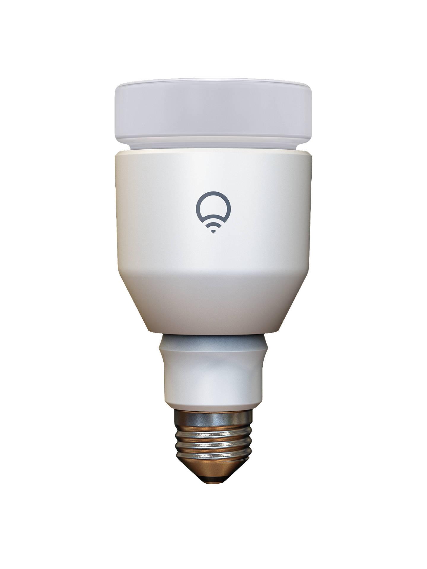 LIFX 17W ES Wi-Fi LED Intelligent Light Bulb, Multi at John