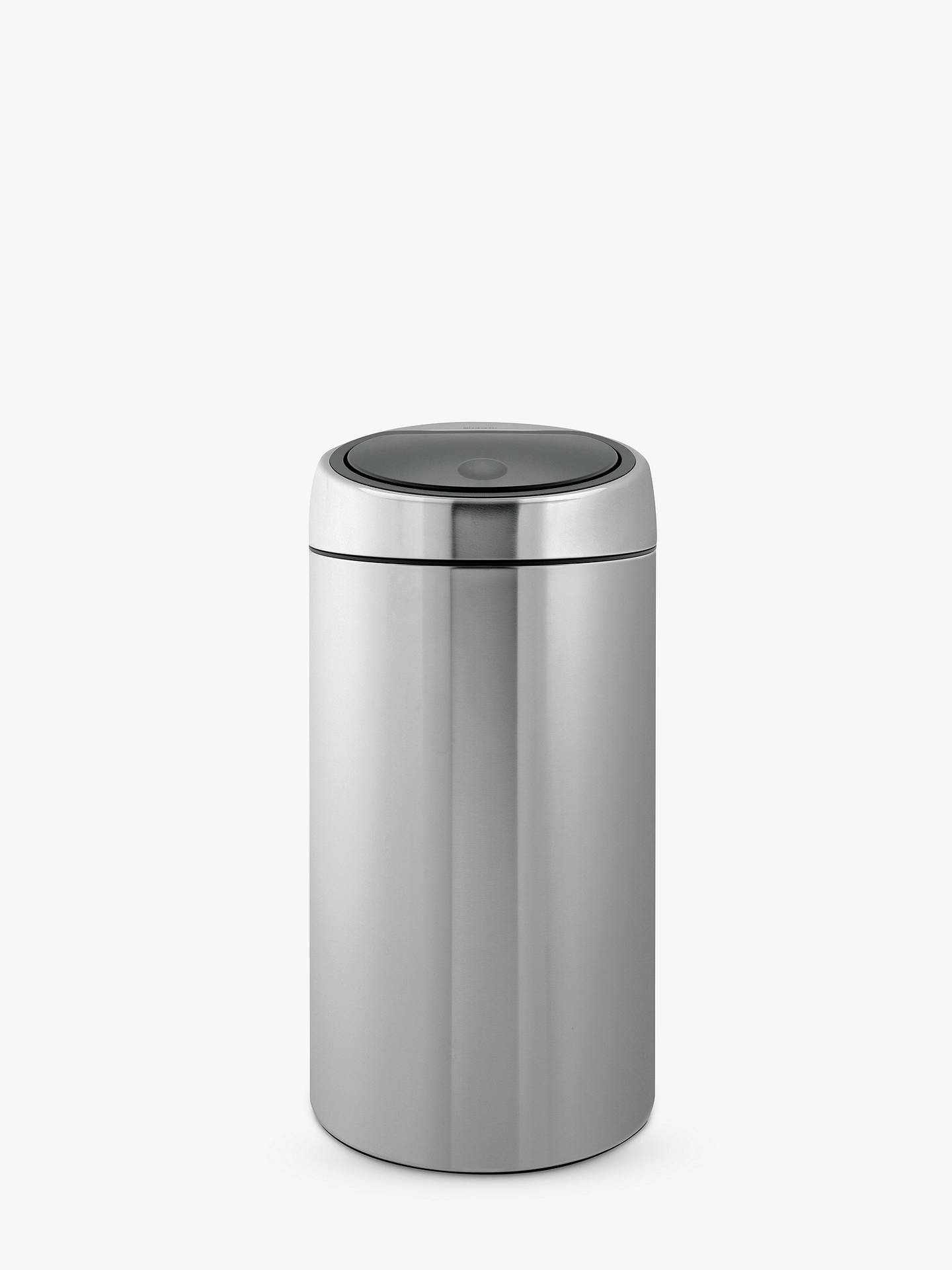 brabantia twin recycling touch bin fingerprint proof matt. Black Bedroom Furniture Sets. Home Design Ideas
