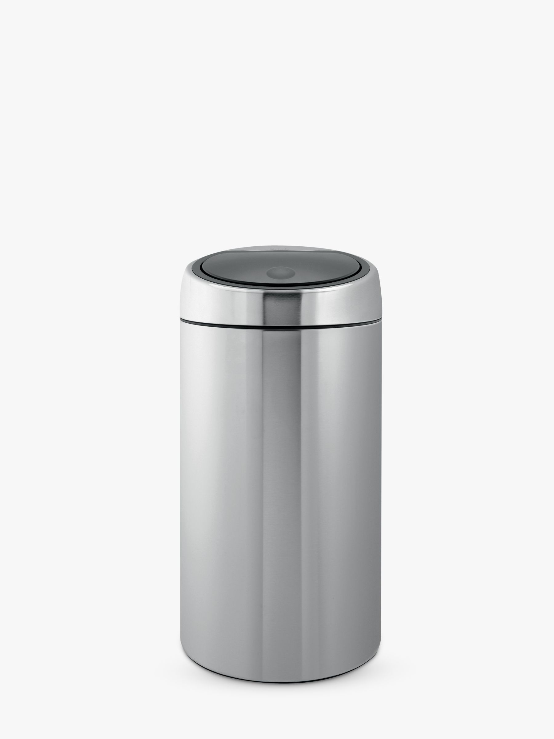 Brabantia Brabantia Twin Recycling Touch Bin, Fingerprint Proof Matt Steel, 20/20L