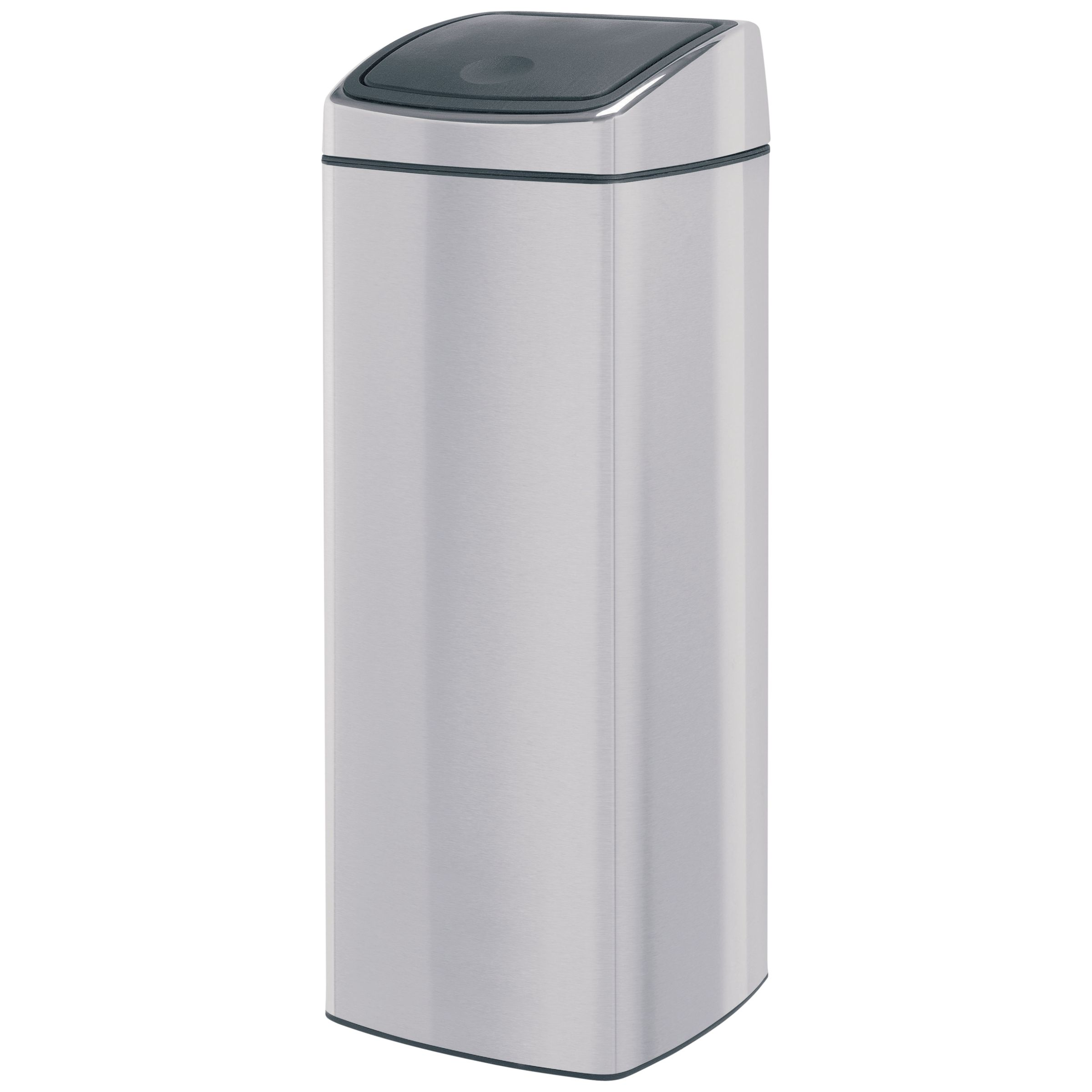 Brabantia Brabantia Rectangular Touch Bin, Fingerprint Proof Matt Steel, 25L