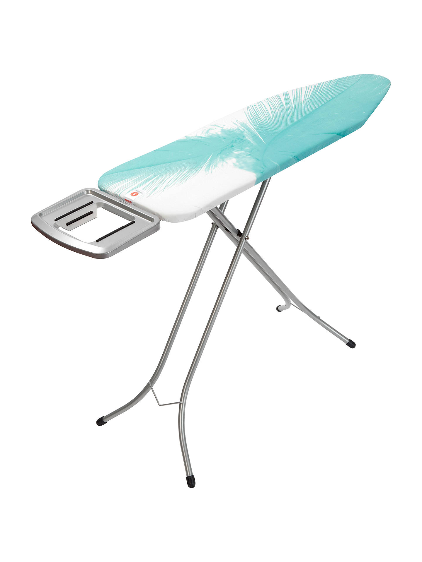 5f2307709277 Buy Brabantia Feathers Ironing Board, L124 x W38cm Online at johnlewis.com