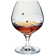 Buy Dartington Crystal Glitz Brandy/ Liqueur Glasses, Set of 2 Online at johnlewis.com