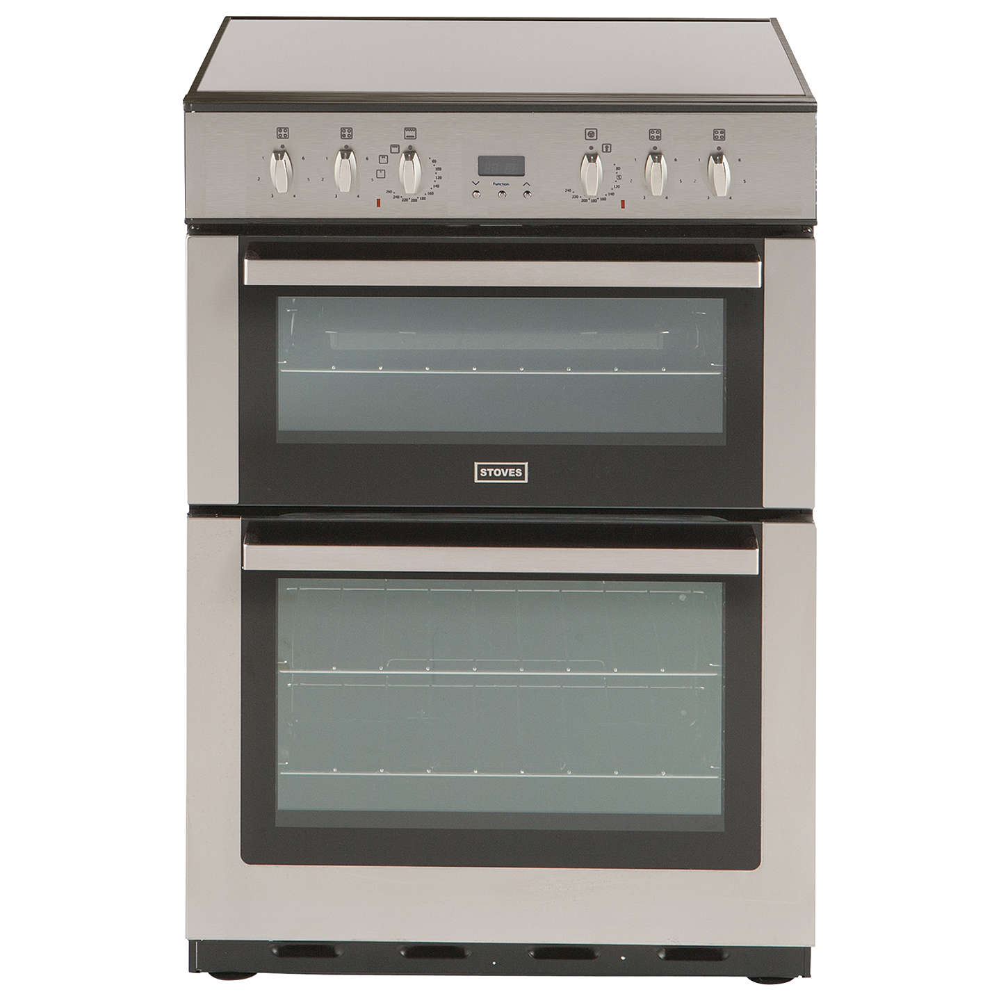BuyStoves SEC60DOP Electric Cooker, Stainless Steel Online at johnlewis.com