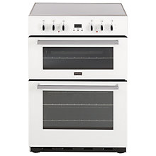 Buy Stoves SEC60DOP Electric Cooker, White Online at johnlewis.com