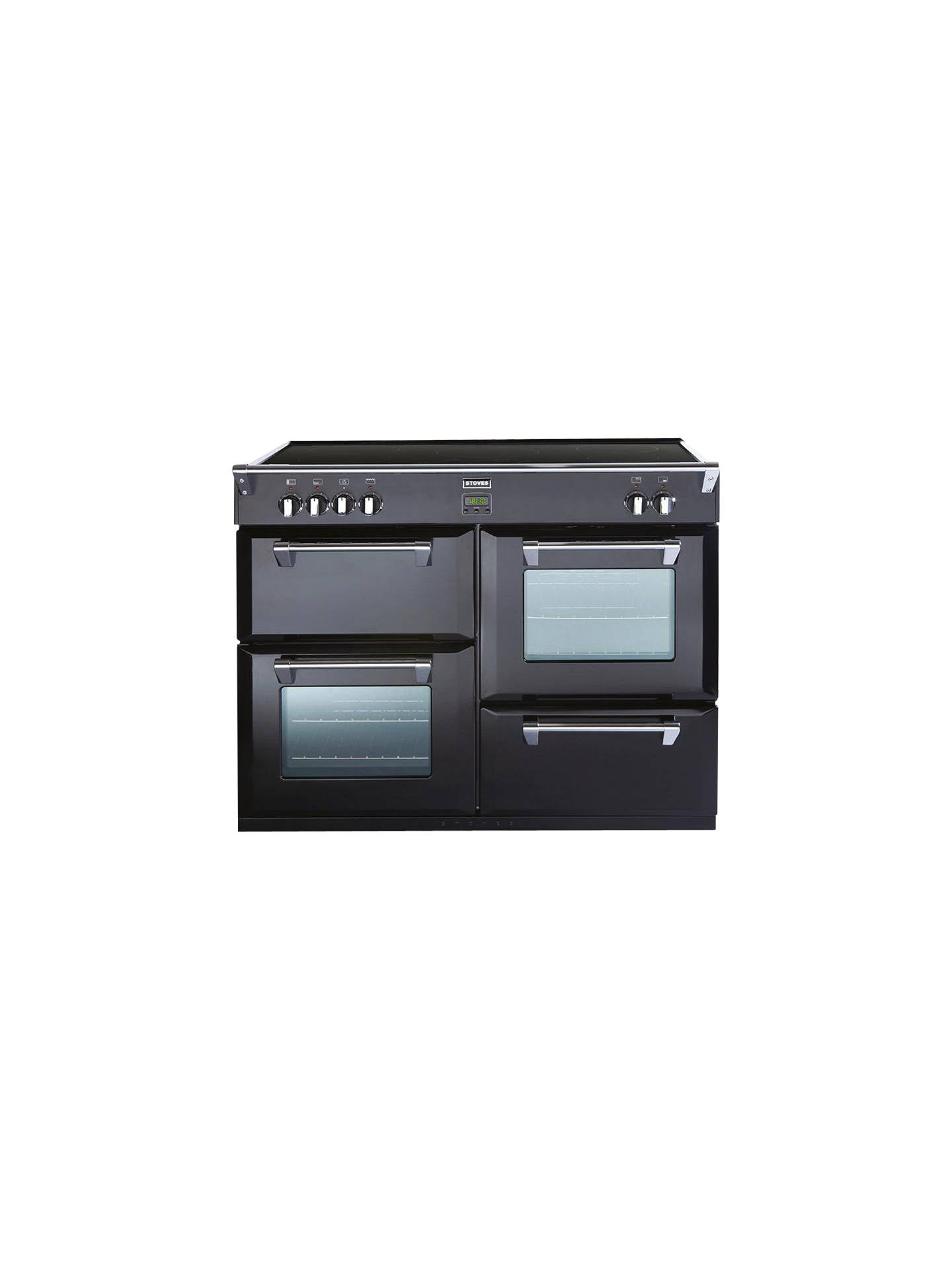 BuyStoves Richmond 1000Ei Induction Hob Range Cooker, Black Online at johnlewis.com