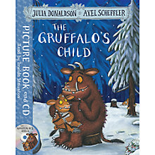 Buy The Gruffalo's Child Book with CD Online at johnlewis.com