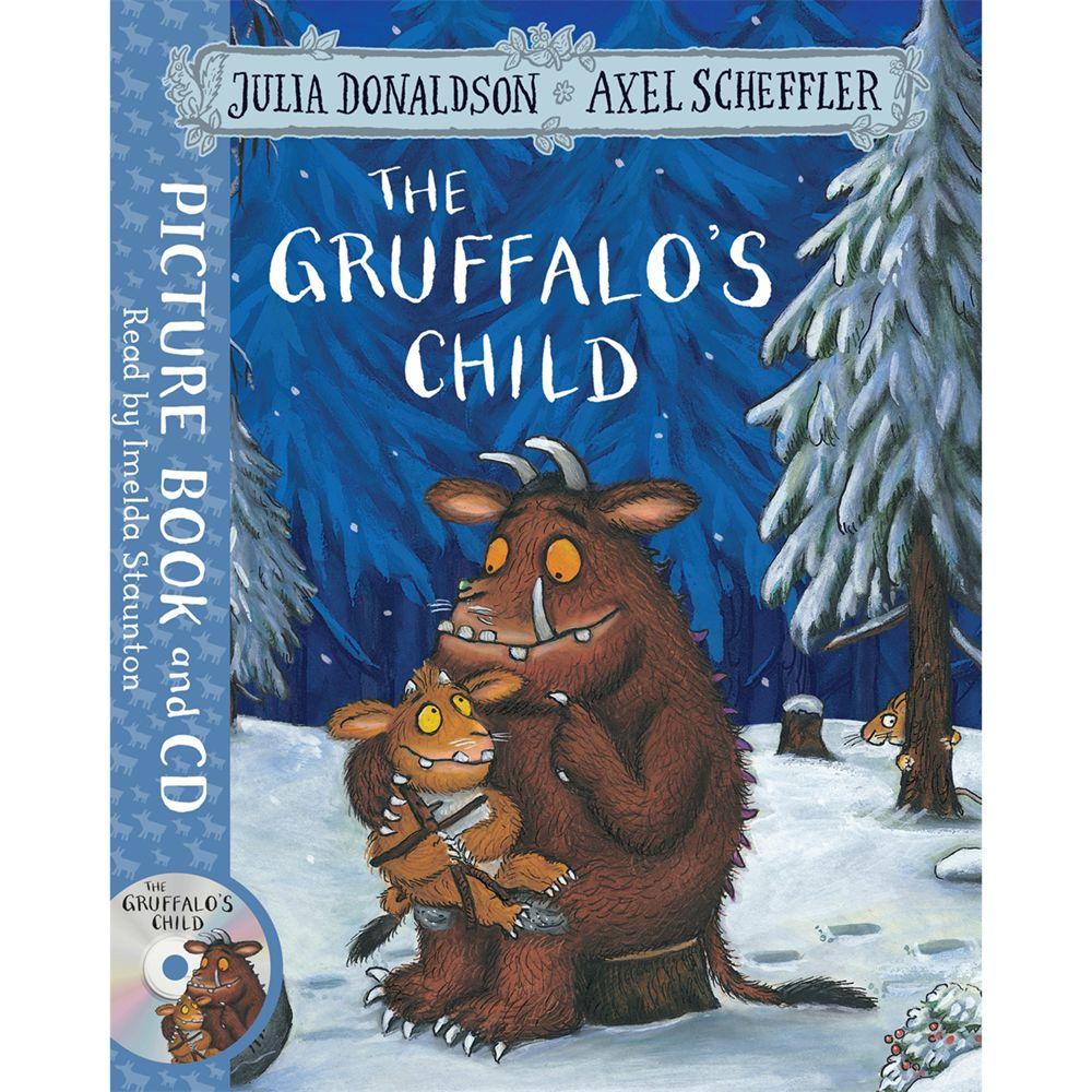 Macmillan The Gruffalo Children's Book with CD
