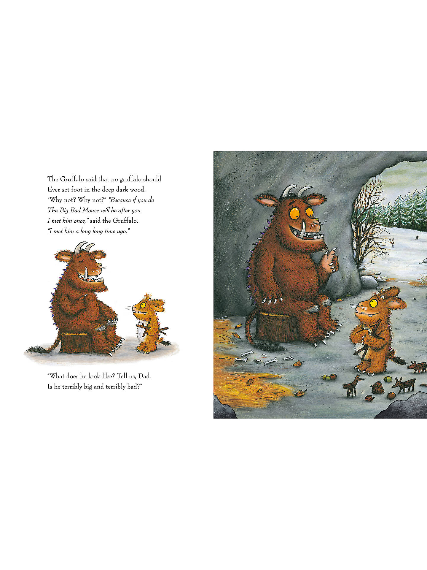 Buy The Gruffalo Children's Book with CD Online at johnlewis.com