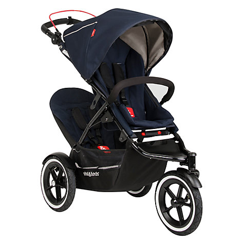 Buy Phil & Teds Sport 2 Pushchair, Mid Blue Online at johnlewis.com