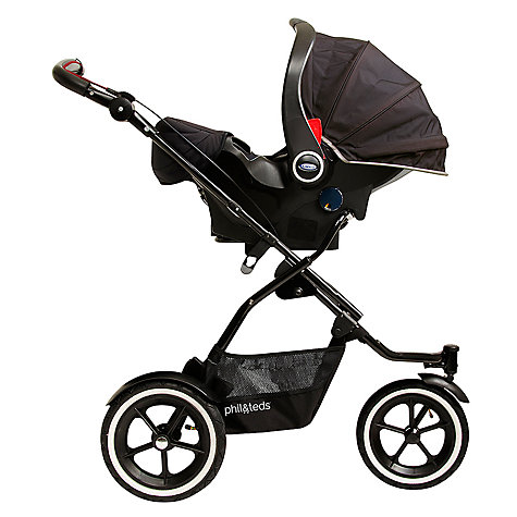 Buy Phil & Teds Sport 2 Pushchair, Black Online at johnlewis.com