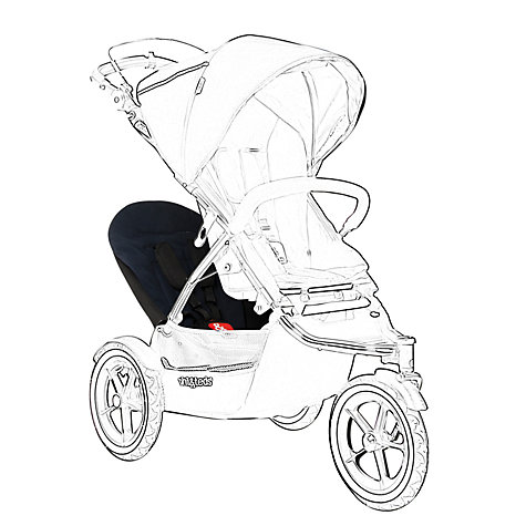 Buy Phil & Teds Sport 2 Double Kit, Mid Blue Online at johnlewis.com