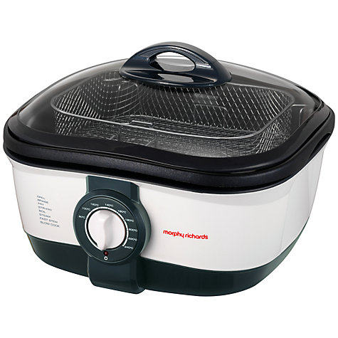 Buy Morphy Richards 48615 Intellichef Multicooker, White Online at johnlewis.com