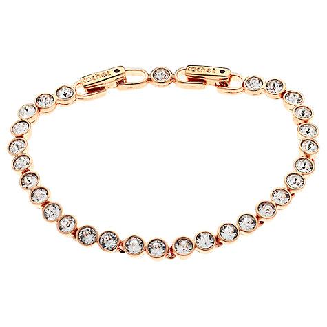 buy cachet swarovski crystal tennis bracelet john lewis. Black Bedroom Furniture Sets. Home Design Ideas
