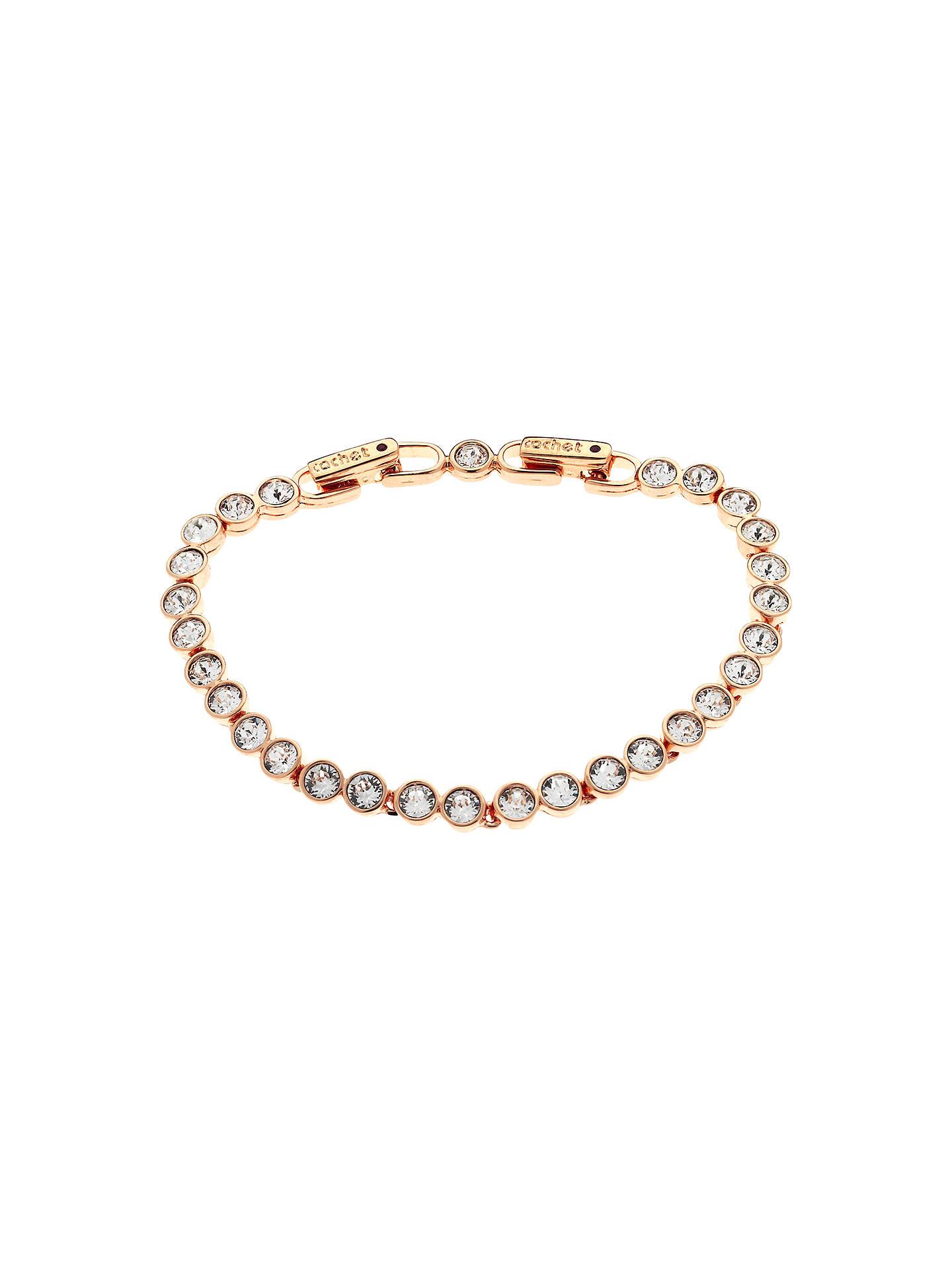 cachet swarovski crystal tennis bracelet at john lewis. Black Bedroom Furniture Sets. Home Design Ideas