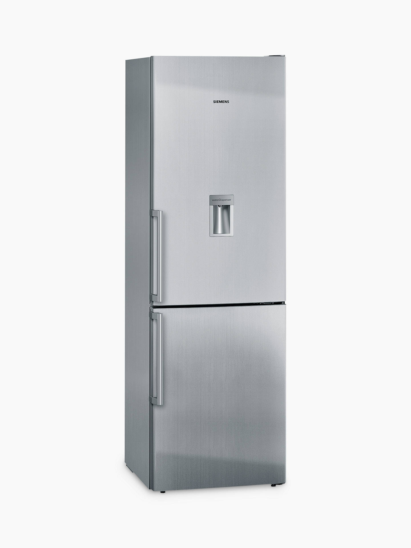 BuySiemens KG36DVI30G Fridge Freezer, A++ Energy Rating, 60cm Wide, Stainless Steel Online at johnlewis.com