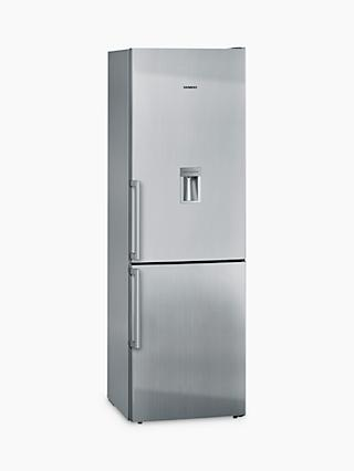 Siemens KG36DVI30G Fridge Freezer, A++ Energy Rating, 60cm Wide, Stainless Steel