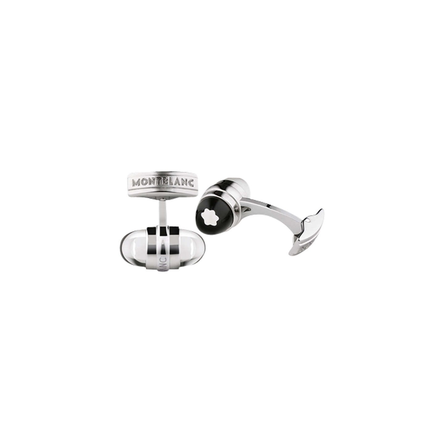 Montblanc Emblem Stainless Steel Cuff Links