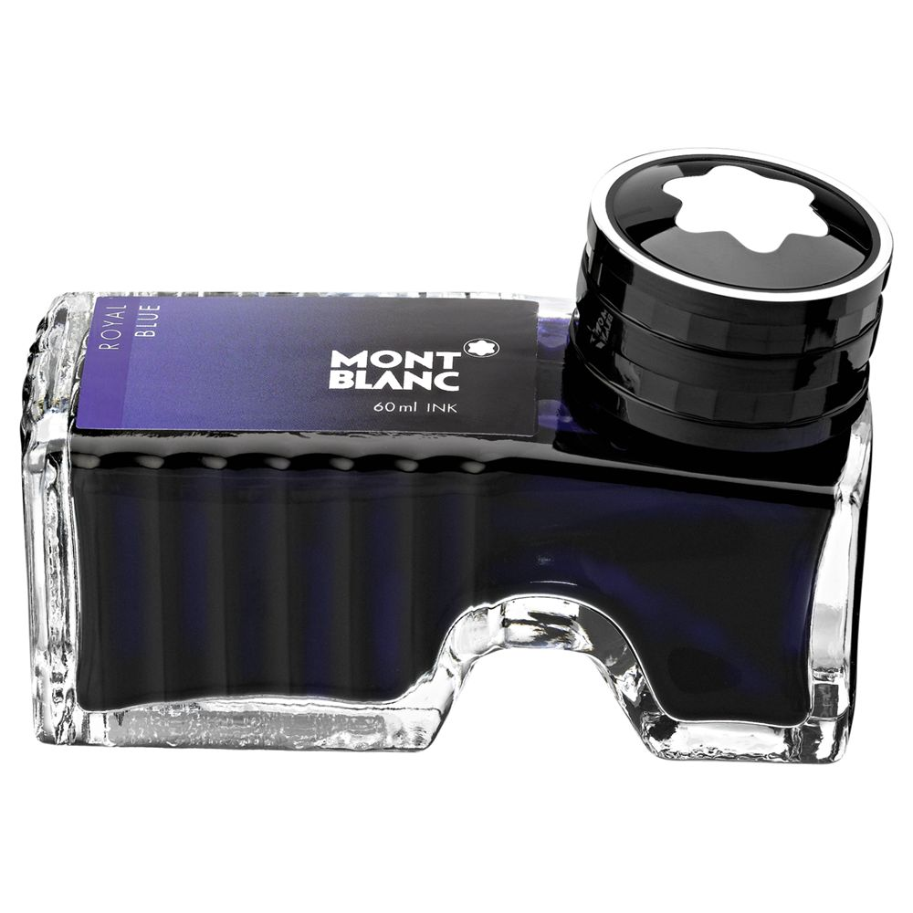Montblanc Montblanc Ink Bottle for Fountain Pen, Royal Blue, 60ml