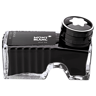 Image of Montblanc Ink Bottle for Fountain Pen, Mystery Black, 60ml